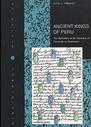 Cover of: Ancient kings of Peru