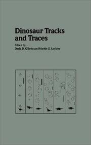 Cover of: Dinosaur tracks and traces