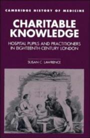 Charitable knowledge by Susan C. Lawrence