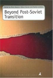 Cover of: Beyond post-Soviet transition