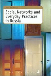 Cover of: Social Networks and Everyday Practices in Russia | Anna-Maria Salmi