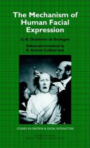Cover of: The mechanism of human facial expression