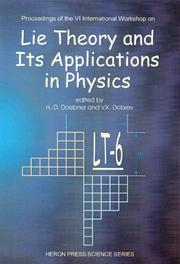 Cover of: Lie Theory & Its Applications in Physics |