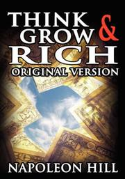 Cover of: Think and Grow Rich | Napoleon Hill