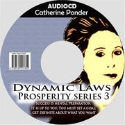 Cover of: Catherine Ponder:The Dynamic Laws of Prosperity Series 3  | Catherine Ponder