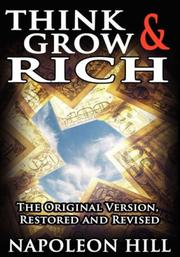 Cover of: Think and grow rich