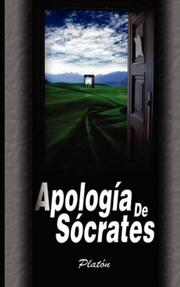 Cover of: Apologia de Socrates