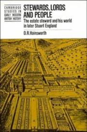 Cover of: Stewards, lords, and people