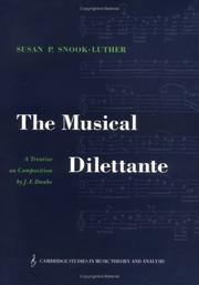 Cover of: The musical dilettante | J. F. Daube
