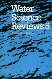 Cover of: Water Science Reviews 5 | Felix Franks