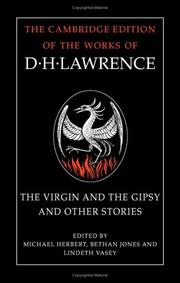Cover of: The virgin and the gipsy and other stories | D. H. Lawrence