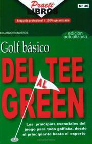 Cover of: Golf Basico