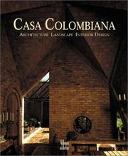 Cover of: Casa Colombiana