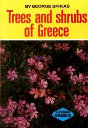 Cover of: Trees and Shrubs of Greece