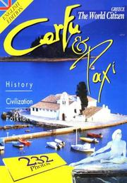 Cover of: Corfu and Paxi: Greece