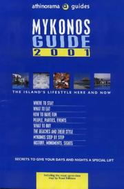 Cover of: Mykonos Guide (Athinorama Guides)