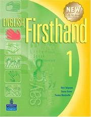 Cover of: English Firsthand 1 with Audio CD | Marc Helgesen