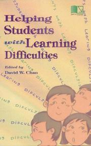 Cover of: Helping Students With Learning Difficulties