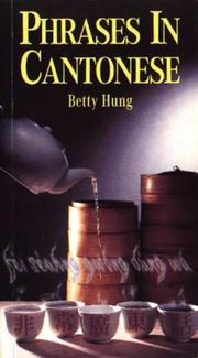 Cover of: Phrases in Cantonese