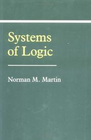 Cover of: Systems of logic