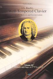 Cover of: J. S . Bach