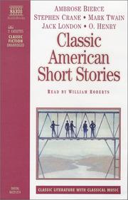Cover of: Classic American Short Stories