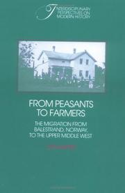 Cover of: From Peasants to Farmers | Jon Gjerde