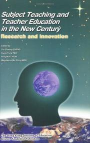 Cover of: Subject Teaching and Teacher Education in the New Century |