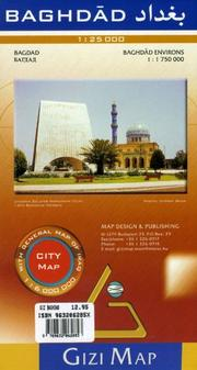 Cover of: Baghdad City Map | Gizi Map