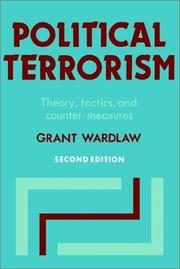 Cover of: Political terrorism | Grant Wardlaw