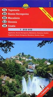 Cover of: Yugoslavia / Bosnia-Herzegovina Map