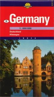 Cover of: Germany Map (Cartographia European Road Map)