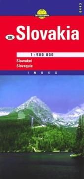 Cover of: Slovakia (Cartographia International Road Map)