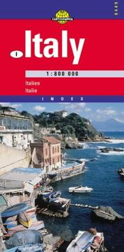 Cover of: Italy 1:800 000: Index = Italien 1:800 000 (Cartographia International Road Map)