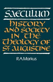 Cover of: Saeculum | R. A. Markus