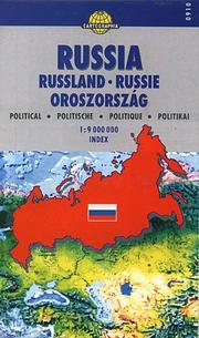 Cover of: Russia: Political Map (Cartographia World Travel Map)