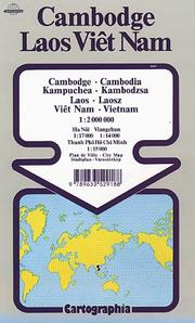 Cover of: Vietnam - Laos - Cambodia Map