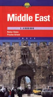 Cover of: Middle East Map