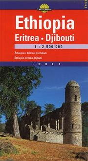Cover of: Ethiopia Eritrea & Djibuti (Cartographia International Road Map)