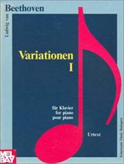 Cover of: Variations I