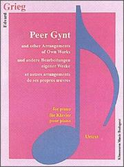 Cover of: Peer Gynt & Transpositions