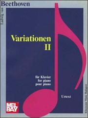 Cover of: Variations II