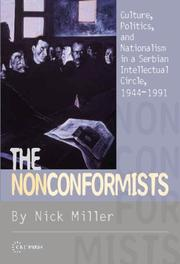 Cover of: The Nonconformists | Nicholas Miller
