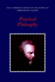 Cover of: Practical philosophy