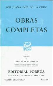 Cover of: Obras Completas