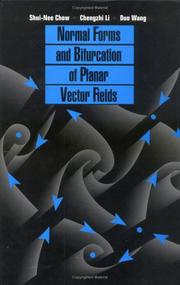 Cover of: Normal forms and bifurcation of planar vector fields