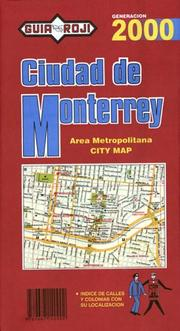 Cover of: Ciudad de Monterrey (City Plan)