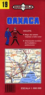 Cover of: Oaxaca Road Map (State Road Maps of Mexico)