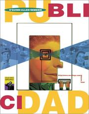 Cover of: Publicidad (SPANISH TRANSLATION OF ADVERTISING, 1E/0-538-86908-9) | Thomas O