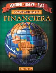 Cover of: Contabilidad Financiera by Carl S. Warren, James M. Reeve, Philip E. Fess